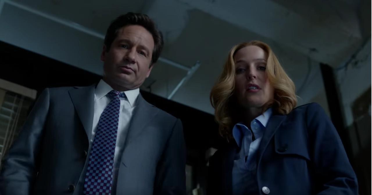 Mulder (David Duchovny) und Scully (Gillian Anderson im neuen Akte-X-Trailer von Fox