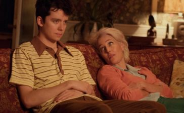 """Sex Education"" mit Asa Butterfield und Gillian Anderson auf Netflix. Foto: Sam Taylor / Netflix"