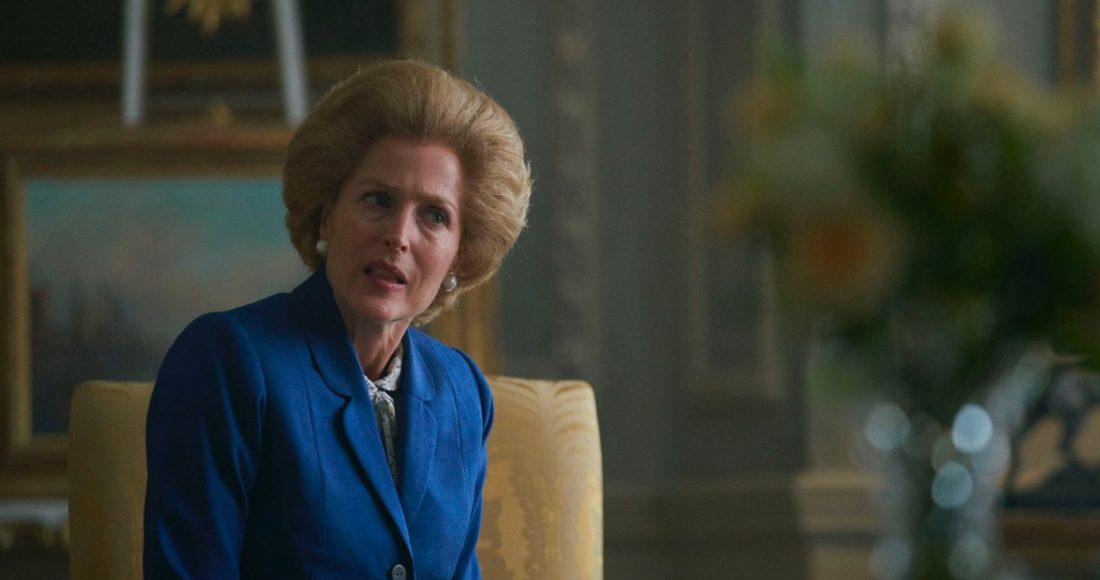 Gillian Anderson als Margaret Thatcher in The Crown. Foto: Netflix